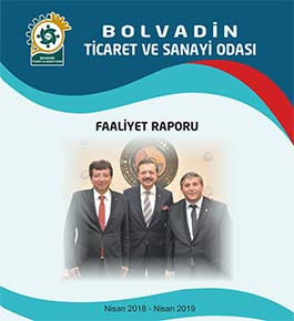 Bolvadin TSO 2018 -2019 faaliyet raporu